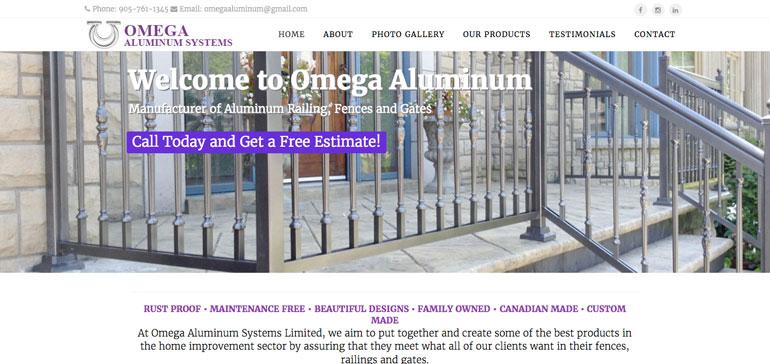 omega aluminum